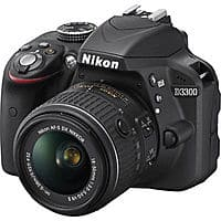 eBay Deal: Nikon D3300 DSLR 24.2 MP with 18-55mm VR II Lens [Factory Refurbished] $329 + Free Shipping!