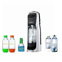 BuyDig Deal: SodaStream Fountain Jet Soda Maker in Black with Exclusive Kit 4 Bottles & Mini CO2 $45 + Free Shipping!
