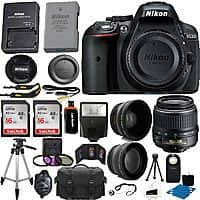 Nikon D5300 Digital SLR Camera w/ 18-55mm Nikkor Lens w/ Accessory Kit $  479 + Free Shipping (eBay Daily Deal)