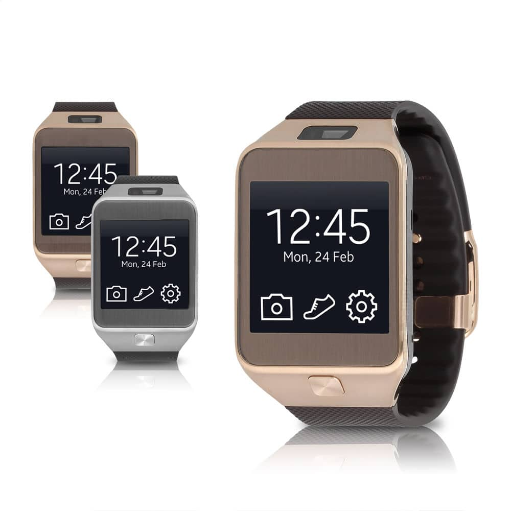 Samsung Galaxy Gear 2 Android Fitness Smartwatch Available in Black or Brown (Refurbished) $110 + Free Shipping (eBay Daily Deal)