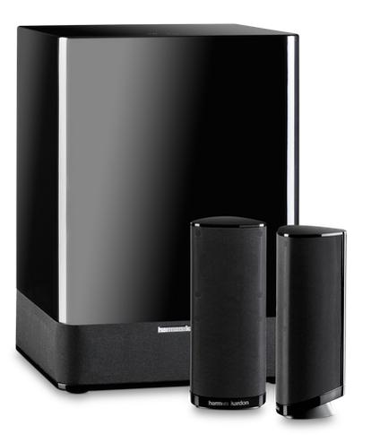 Harman Kardon HKTS 2 MKII, 2.1-Channel Home Theater Speaker System $120 + Free Shipping!