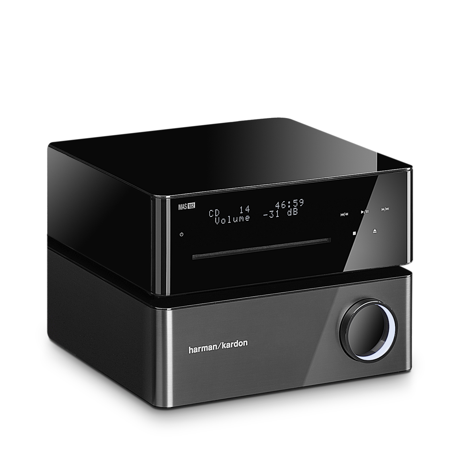 Harman Kardon MAS 102 CD Player and Amplifier w/ Free MAS Speakers $200 + Free Shipping!