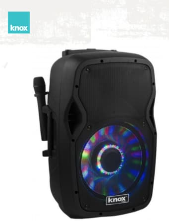 Knox 100-Watt 12-Inch Portable Bluetooth PA Speaker and Karaoke Party Speaker System $149.00 + Free Shipping!