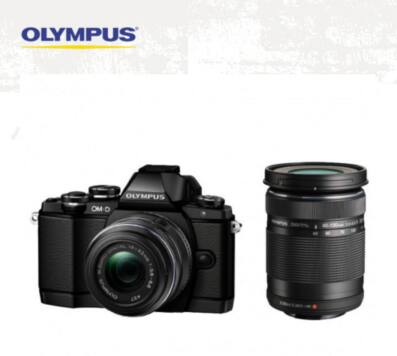 Olympus OM-D E-M10 Mirrorless Digital Camera w/ 14-42mm & 40-150MM Zoom Lenses (Black) + Sony 32gb Memory Card $499 + Free Shipping!