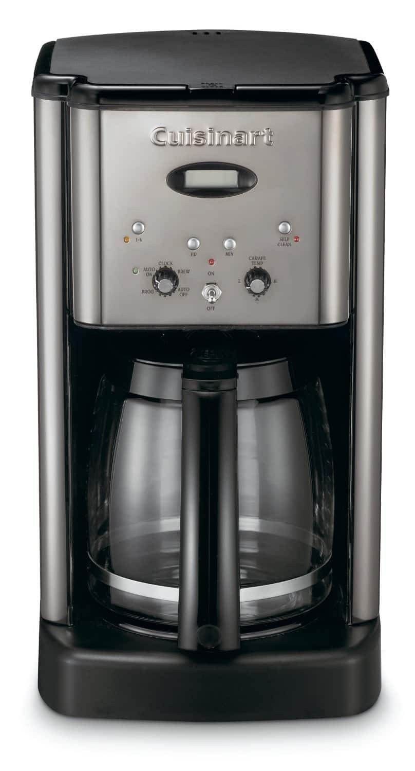 Cuisinart Brew Central DCC-1200 12-Cup Programmable Coffeemaker (Refurbished, Black/Stainless Steel) $35 + Free Shipping!