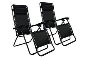 2-Pack Zero Gravity Chairs Lounge Patio Chairs $60 + Free Shipping! (eBay Daily Deal)