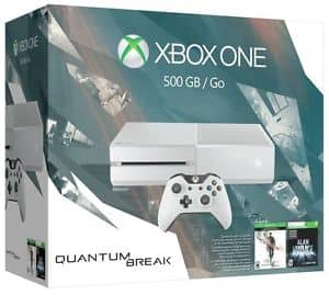 Xbox One 500GB White Console - Special Edition Quantum Break Bundle $279 + Free Shipping! (eBay Daily Deal)