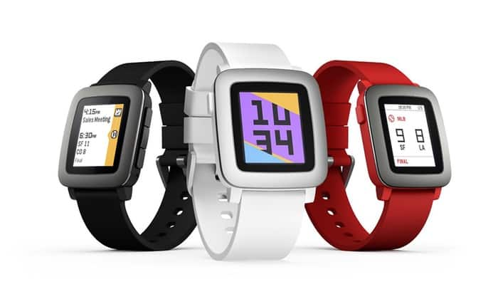 Pebble Time Smartwatch for iPhone and Android Devices (Manufacturer-Refurbished) $80 + Free Shipping