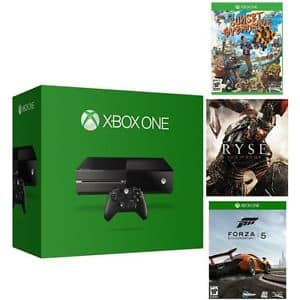 *LIVE* Microsoft Xbox One 500GB Console Bundle (Certified Refurbished) w/ 3 Games for $234 + Free Shipping! (eBay Daily Deal)