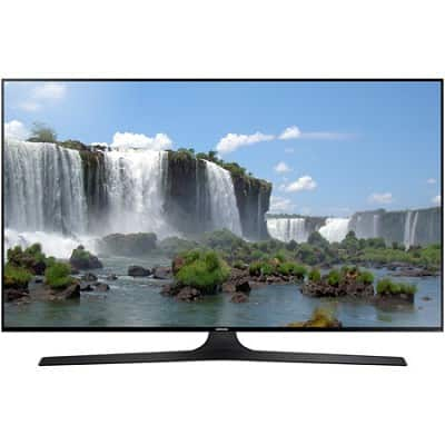 Samsung UN50J6300 - 50-Inch Full HD 1080p Smart LED HDTV + $30 Credit to Vudu and 3 Months of Rhapsody $495 + Free Shipping!
