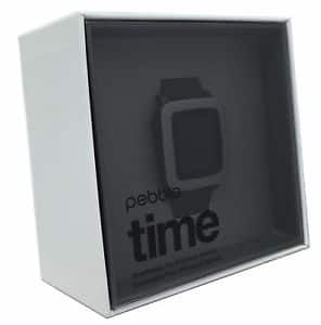 Pebble Time iPhone/Android Bluetooth Water Resistant Smartwatch $95 + Free Shipping (eBay Daily Deal)