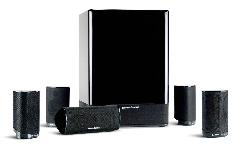 Harman Kardon HKTS 15 (Recertified), 5.1 Home Theater Speaker System $140 + Free Shipping!