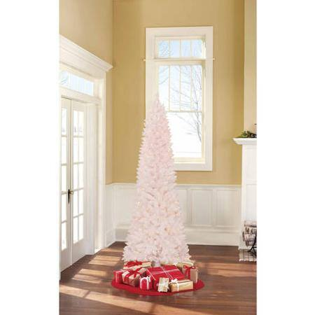 7FT Holiday Time Pre-Lit Brinkley Pine Artificial Christmas Tree $29 + Free Store Pickup!