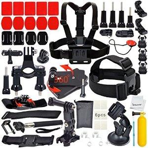 Erligpowht Basic Common Outdoor Sports Kit Ultimate Combo Kit for GoPro HERO 4/3+/3/2/1 $11 AC + FSSS!
