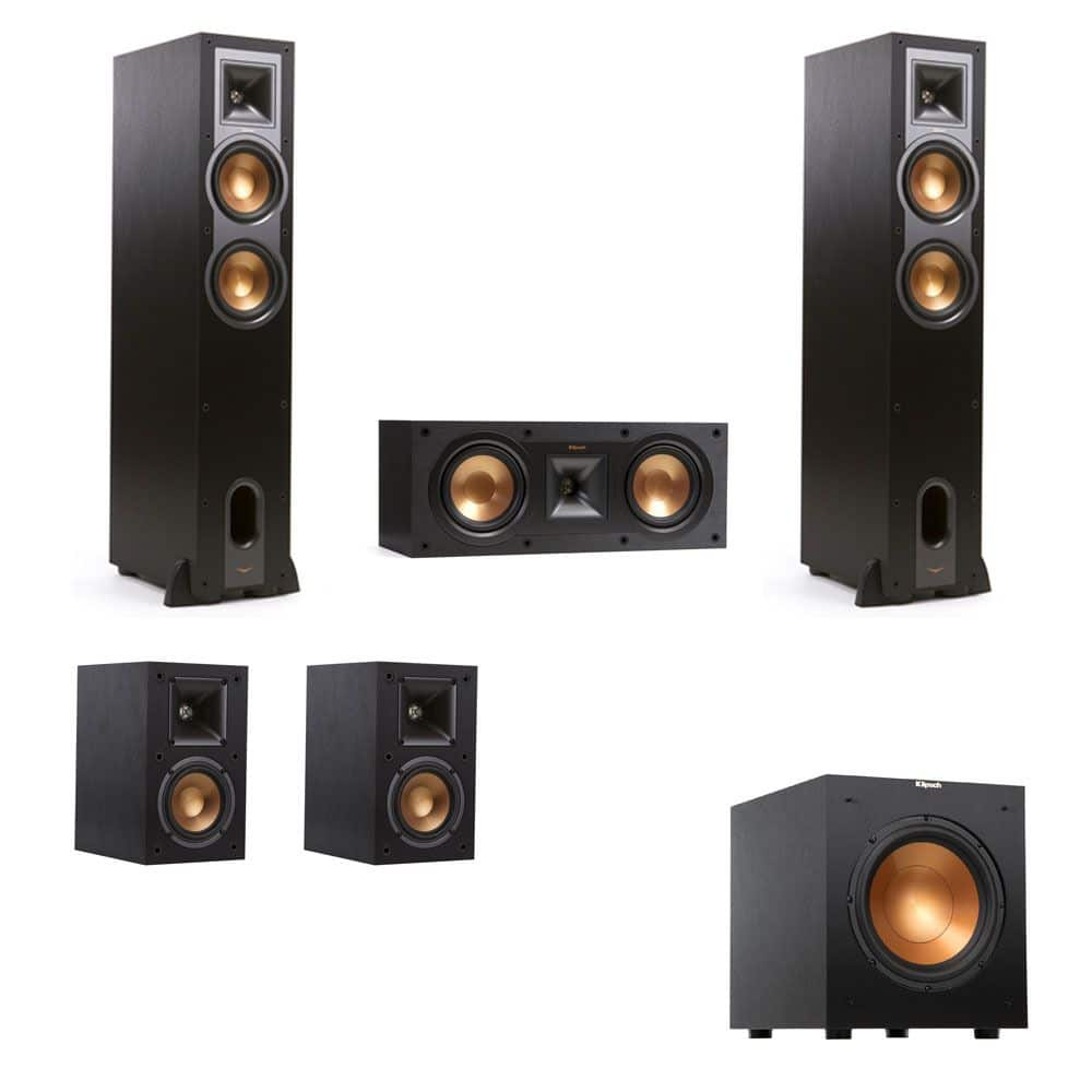 Klipsch R-26F 5.1 Speakers R-10SW Bundle + Denon AVR-X2200W $1299, Klipsch R-26F 5.1 Home Theater System with R-10SW $869 & More + Free Shipping!