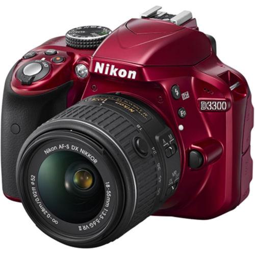 Nikon D3300 24.2MP 1080p Digital SLR Camera w/ 18-55mm VR II Lens (Refurbished) $309 + Free Shipping (eBay Daily Deal)
