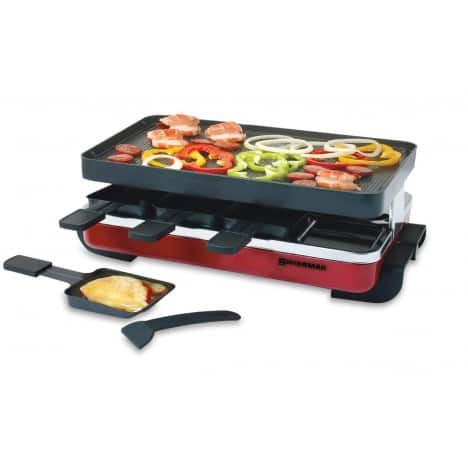 Swissmar 8-Person Classic Reclette Party Grill (Red) $86 + Free Shipping!