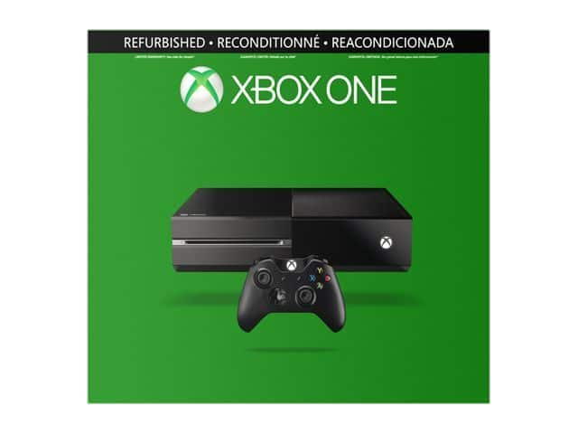 500GB Microsoft Factory Refurbished XBOX One Gaming Console $179 + Free Shipping (eBay Daily Deal)