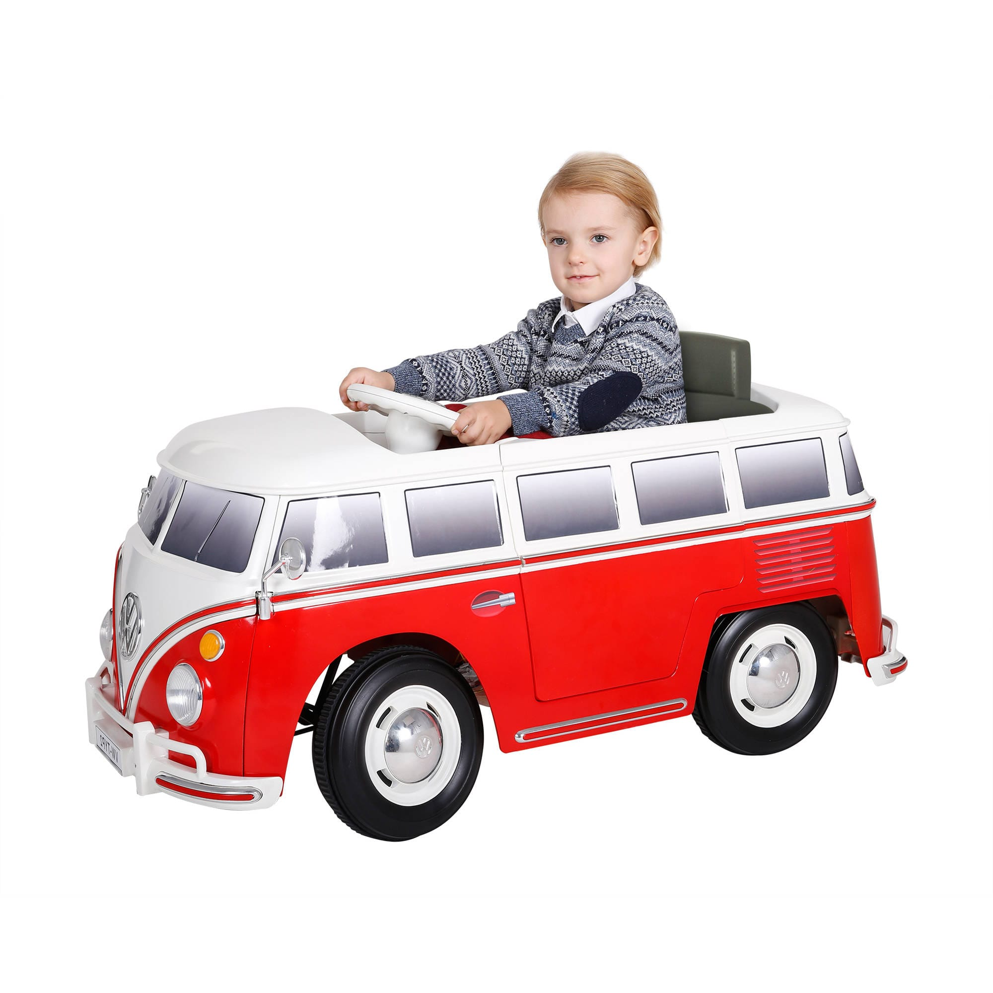 RollPlay 6V VW Bus Battery Powered Ride-On $109 + Free Shipping or Store Pickup!