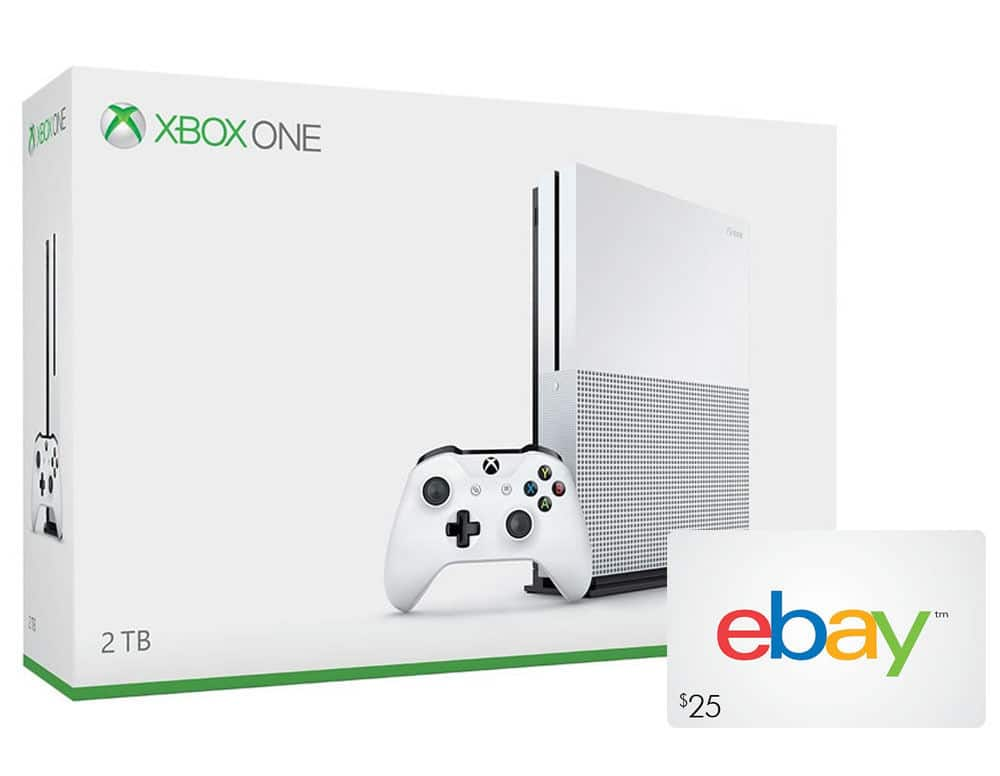 Xbox One S 2TB Console + $25 eBay Gift Card for $400 + Free Shipping (eBay Daily Deal)
