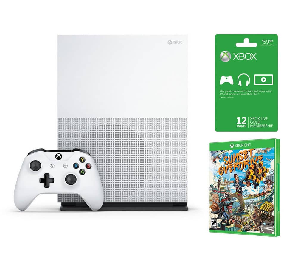 Xbox One S 2TB - Launch Edition + Sunset Overdrive + 12 Month Live Membership $400 + Free Shipping (eBay Daily Deal)
