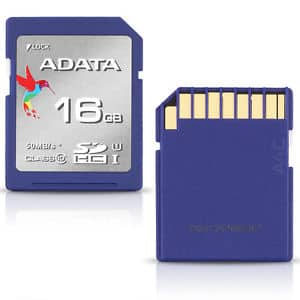 ADATA Premier 16GB SDHC Class 10 Flash Memory Card $6.49 Shipped