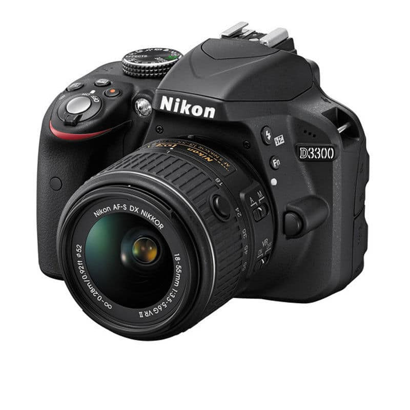Nikon D3300 24.2 MP CMOS Digital SLR With 18-55mm f/3.5-5.6G VR Zoom Lens $350 + Free Shipping (eBay Daily Deal)