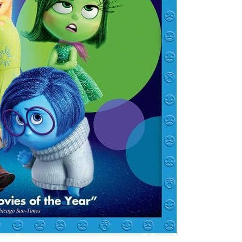 Inside Out BluRay Disney Pixar Blu-Ray/DVD/Digital Copy $9 + Free Shipping (eBay Daily Deal)