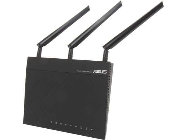 ASUS RT-N66R Dual-Band Wireless-N900 Gigabit Router (Asus Factory Refurbished) $50 + Free Shipping!