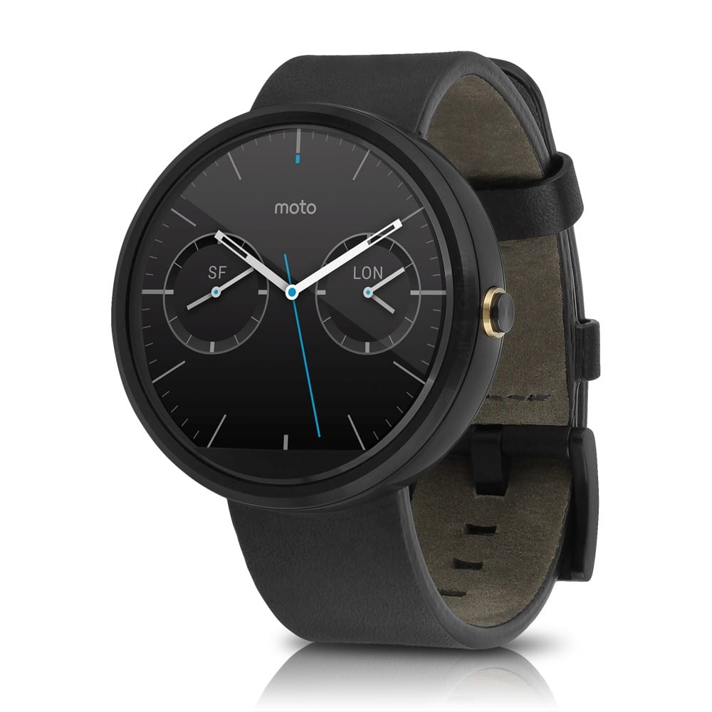 Motorola Moto 360 Smartwatch w/ 22mm Leather Band (Refurbished) $75 AC, Orbo Kids Smartwatch $36 AC, Pebble Time Smartwatch - Black (Refurbished) $60 & More + Free Shipping!