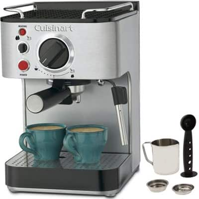 Cuisinart EM-100 15-Bar Stainless Steel Espresso Maker (Factory Refurbished) $80 AC + Free Shipping!