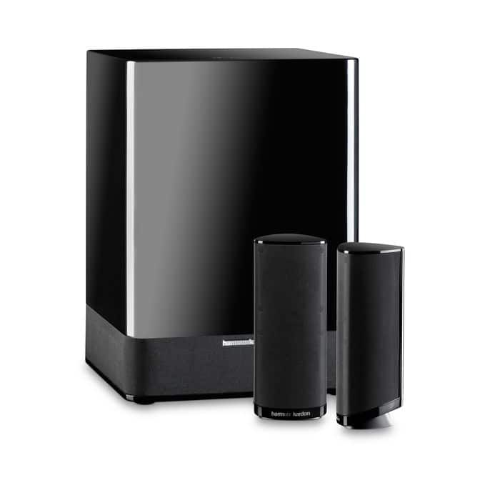 Harman Kardon HKTS 2 MKII (Recertified) 2.1 Compact Home Theater Speaker System $110 Shipped