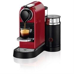 Nespresso CitiZ & Milk Espresso Maker in Chrome or Cherry Red (C122-US-CH-NE) $189.99 Shipped