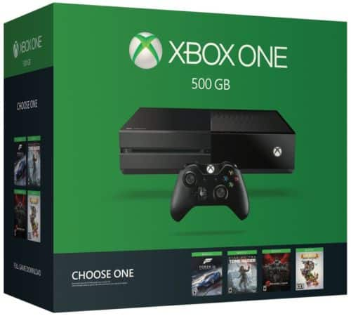 Xbox One 500GB Console - Name Your Game Bundle $210 + Free Shipping (eBay Daily Deal)