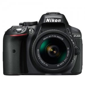 Nikon D5300 DSLR With 18-55mm f/3.5-5.6G AF-p VR Lens (International with Full 1-Year Ritz Warranty) $450 + Free Shipping!
