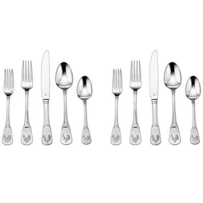 Cuisinart 40-Piece Flatware Set (Fampoux or French Rooster) $37 + Free Shipping!