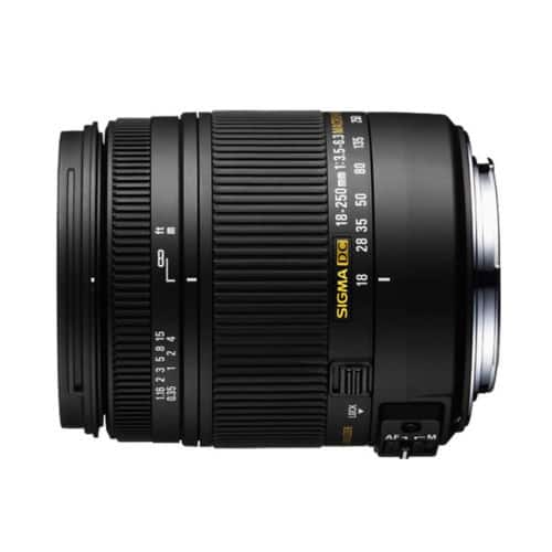 Sigma 18-250mm f3.5-6.3 DC HSM Macro Lens for Canon, Nikon or Pentax $229 + Free Shipping (eBay Daily Deal)