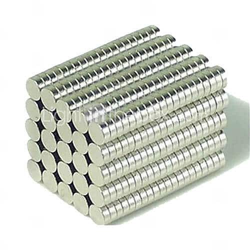 200-Pack (3mm x 1mm) Rare Earth Magnets $2 + Free Shipping