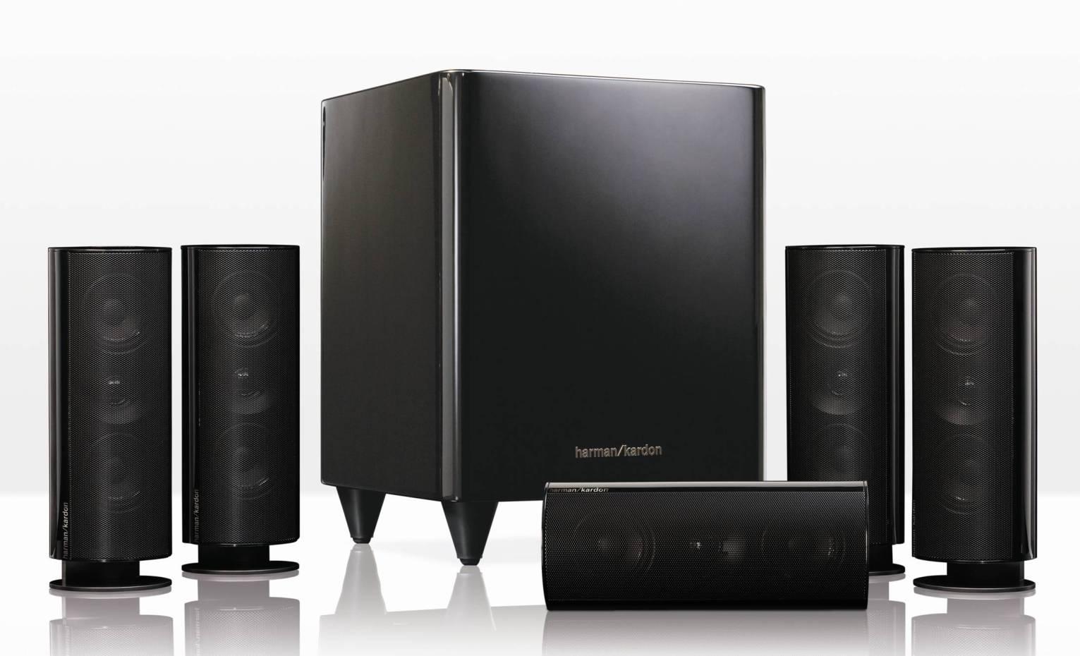 harman kardon hkts 30 5 1 channel home theater speaker. Black Bedroom Furniture Sets. Home Design Ideas