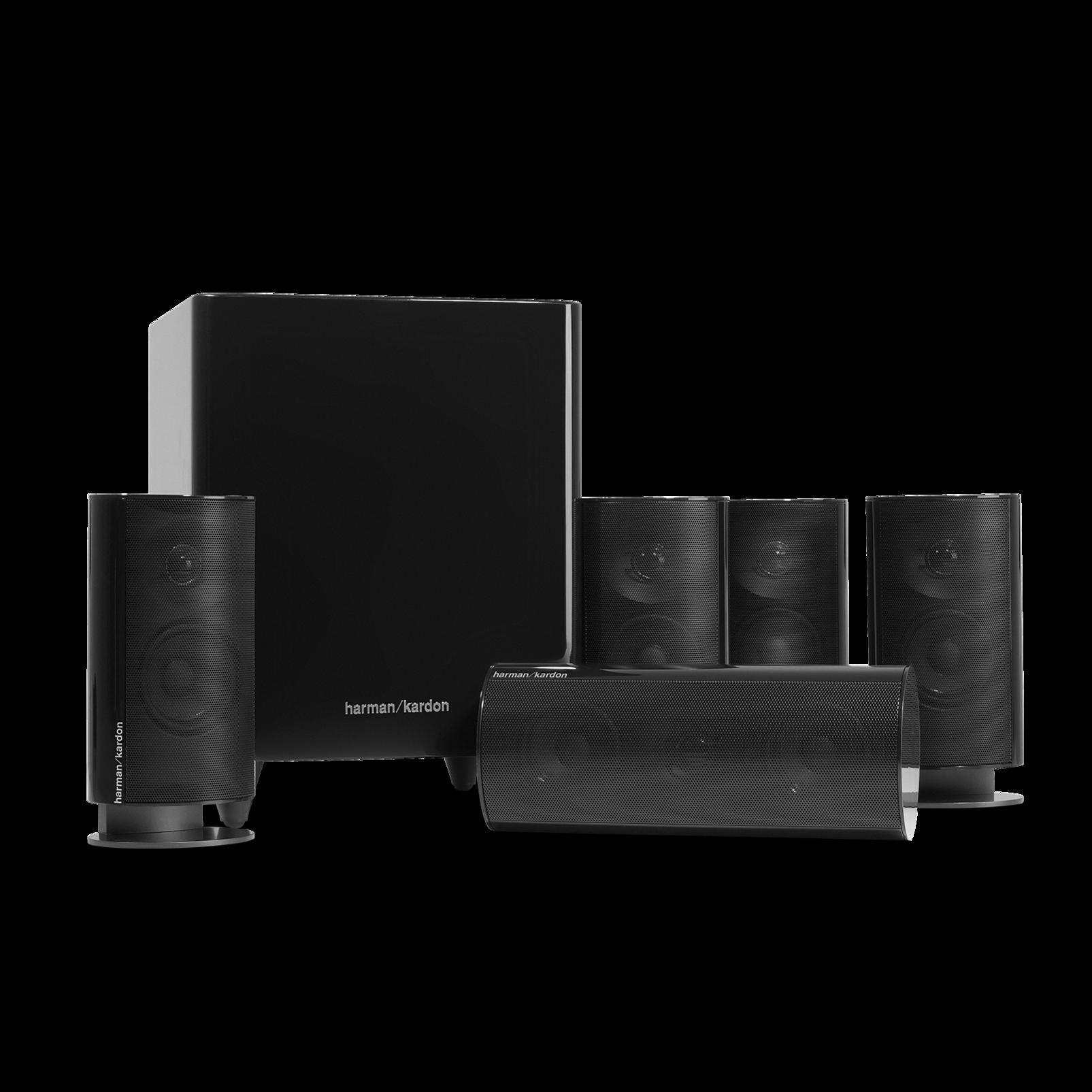 harman kardon hkts 20 5 1 channel home theater sound. Black Bedroom Furniture Sets. Home Design Ideas