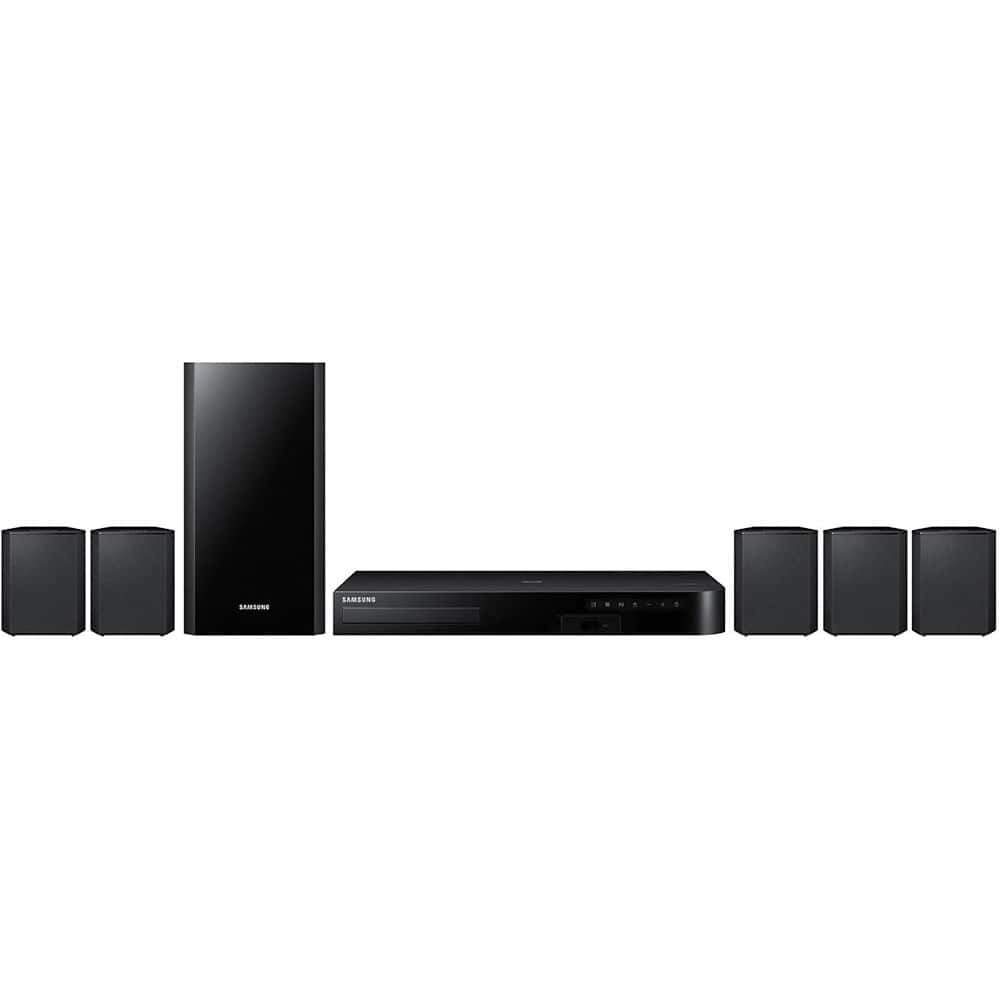 Samsung HW-J355 - 2.1 Channel 120 Watt Audio Soundbar with Bluetooth $99.99, Samsung HT-J4500 - 5.1CH 500 Watt Smart 3D Blu-Ray Home Theater System w/ Bluetooth $149.99 & More + FS