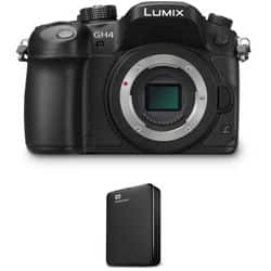 Panasonic Lumix DMC-GH4 4K Mirrorless Micro Four Thirds Digital Camera Kit with 12-35mm f/2.8 ASPH. Lens for $1495.00 + Free Shipping