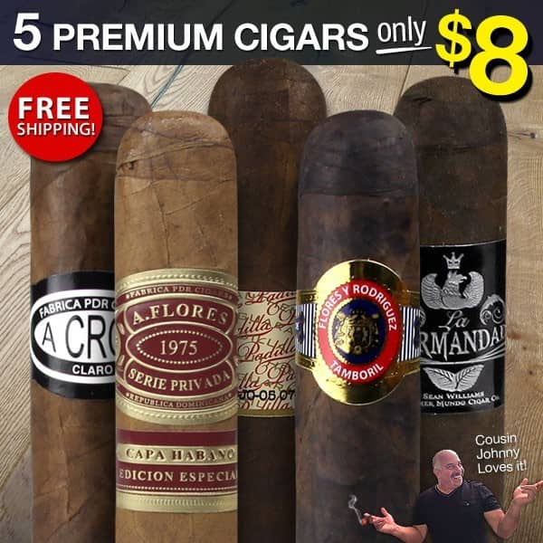 5-Pack Cigar Page Prime Sampler Vol II for $8 + Free Shipping