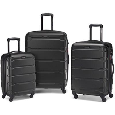 Samsonite Omni Hardside 3 Piece Spinner Luggage Set for $199 Shipped