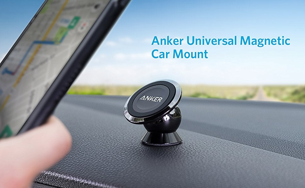 Anker Universal Magnetic Car Mount — Ultra-Compact Phone Holder for $12 + FSSS!