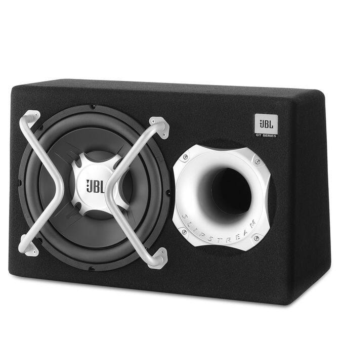 Jbl Gt Basspro 12 Enclosed Powered Car Subwoofer Refurb