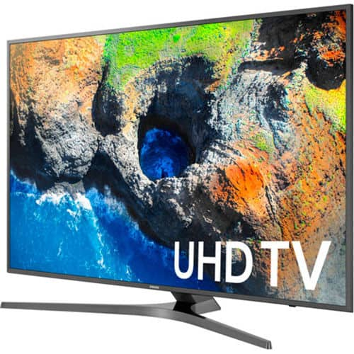 """Samsung UN65MU7000FXZA 65"""" 4K Ultra HD Smart LED TV $1199, Samsung UN55MU7000FXZA 54.6"""" 4K Ultra HD Smart LED TV $799, Samsung UN49MU7000FXZA 48.5"""" 4K Ultra HD Smart LED TV $549"""