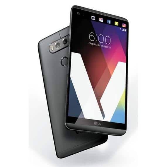 LG V20 64GB H910A Unlocked GSM 4G LTE Quad-Core Phone w/ Dual Rear Camera (16MP+8MP) - Titan for $315 AC + Free Shipping