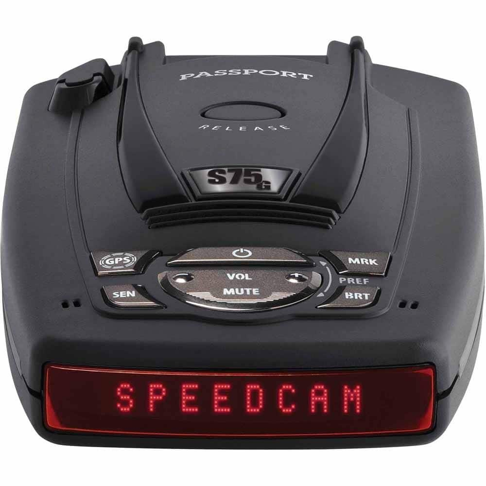 Escort Passport S75G Radar Detector with GPS with Auto Lockout $249 + Free Shipping