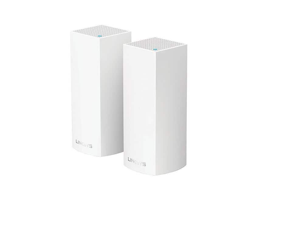 2-Pack Linksys Velop Whole Home WiFi Mesh System (Cert. Refurbished) $210 Shipped